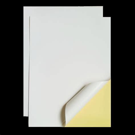 mm  mm matt white  adhesive easy peeling