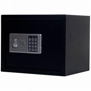 Stalwart Black Electronic Large Safe