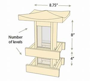 Pagoda Bird Feeders - Naturalyards com