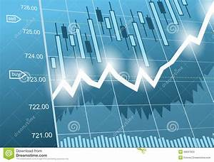 Background With Business  Financial Data And Diagrams