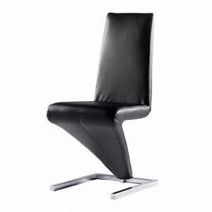 Chaise Noire Design : chaise moderne noir le monde de l a ~ Teatrodelosmanantiales.com Idées de Décoration