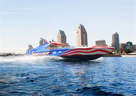 San Diego Boat Tours by Patriot Jet Boat San Diego Flagship Cruises Events