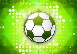 Green Football Vector