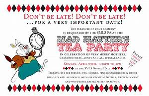 alices adventures in typography ajuniperberry With mad hatter tea party invitation template free