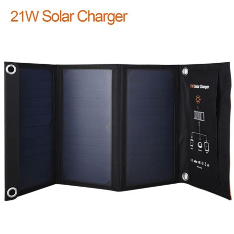 mobile in mp4 21w outdoor travel folding foldable solar panel battery