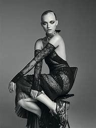 Fashion Editorial Black Model