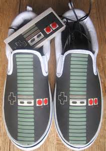 Custom Vans Brand NES Controller Canvas Shoes