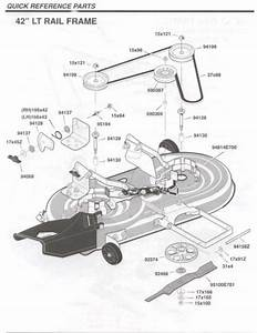 Wiring Diagram  11 Murray 42 Deck Belt Diagram