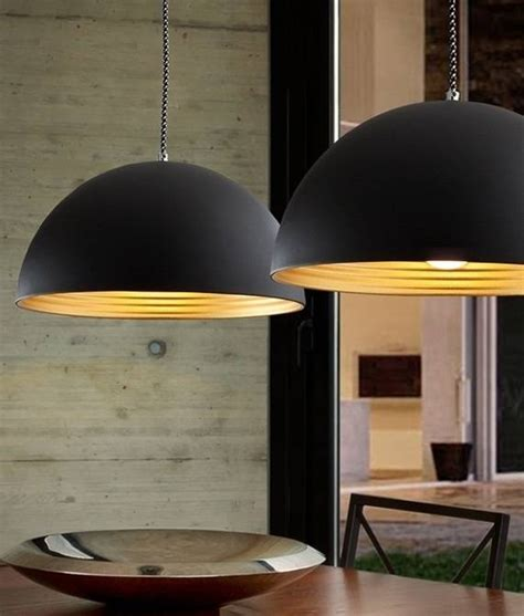 photo  large dome pendant lights