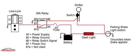 novaresource line lock wiring