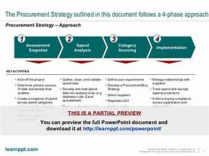 procurement strategy framework With procurement category strategy template