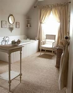 Amenagement salle de bain de style campagne en 25 idees for Salle de bain design avec campagne décoration magazine