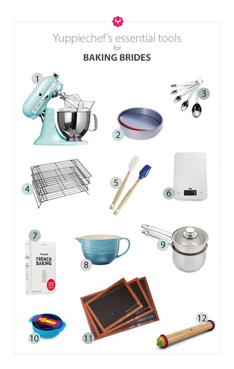 essential tools  baking brides