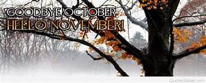 Goodbye October Hello November images