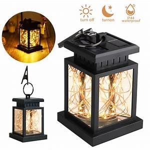Solar, Led, Lantern, Hanging, Light, Outdoor, Eeekit, Waterproof, Solar, Table, Lamp, Solar, Powered, Night