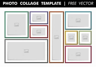 Collage Templates Template Word Photoshop Vorlage Frame