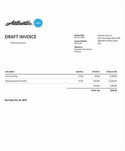 21 invoice examples samples in word With draft invoice