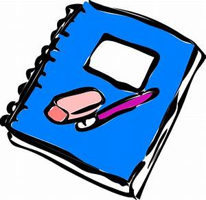 Notebook Clip Art at Clker.com - vector clip art online ...