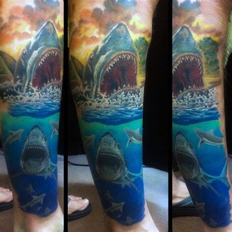 Solid Band Tattoo On Forearm