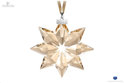 swarovski scs christmas ornament annual edition 2013