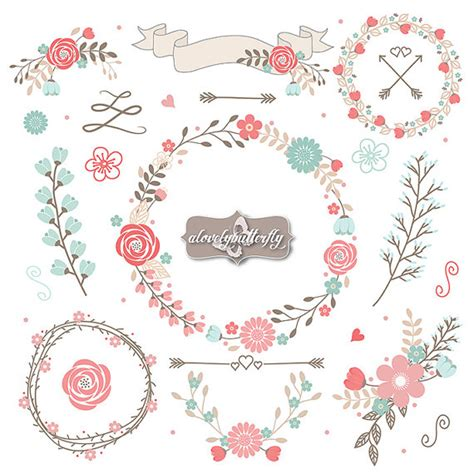shabby chic clipart items similar to wedding flower clipart rustic shabby chic clipart rose blush red flower wood