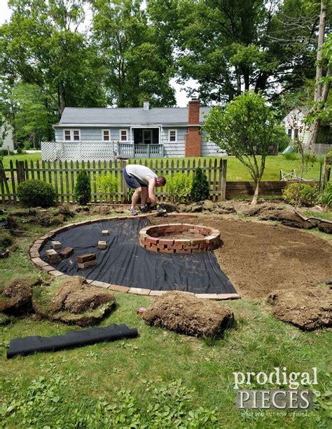 Backyard Pit Landscaping Ideas by Diy Pit Backyard Budget Decor Backyards