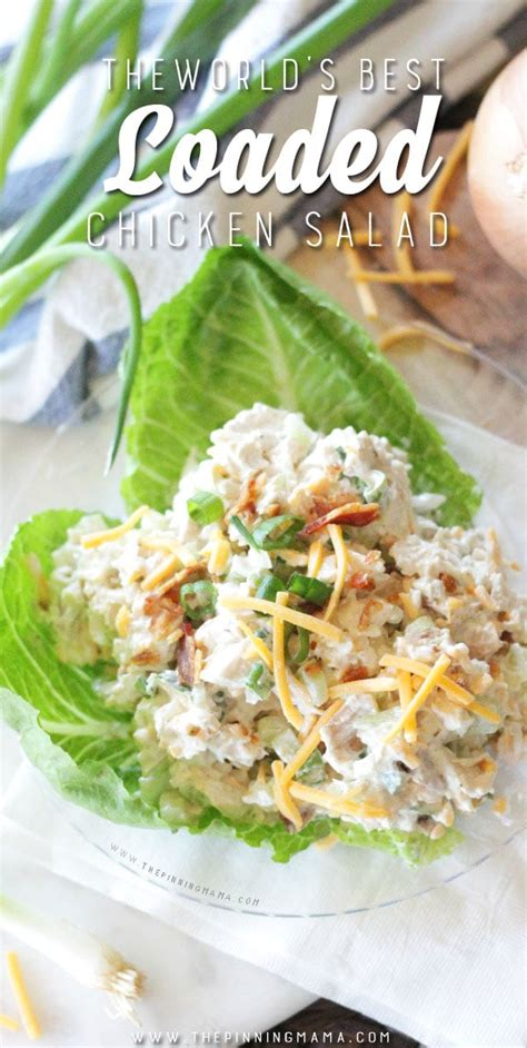 loaded chicken salad keto atkins  carb top