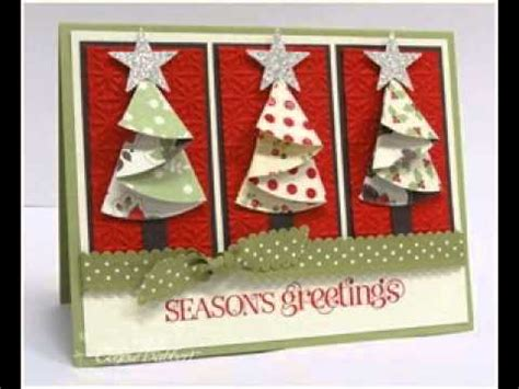 scrapbooking making ideas  christmas cards youtube