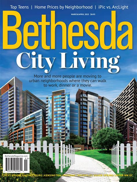 Bethesda Magazine: March April 2015 by Bethesda Magazine