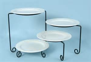 rotating cake stand 4 tiered buffet stand rotating black iron arizona