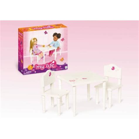 18 doll furniture table and chairs my life as 18 quot doll furniture table and chairs walmart com