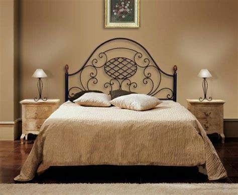 fer forgé chambre coucher décoration chambre en fer forge