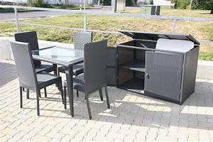 Polyrattan Stuhl Weiß : luxus sitzgruppe polyrattan stuhl tisch box ebay ~ A.2002-acura-tl-radio.info Haus und Dekorationen