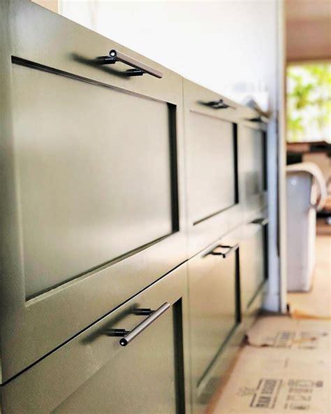 albanyca kitchen install progress shot  ikea sektion