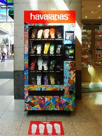 Vending Machine Machines Havaianas Japan Flip Australia