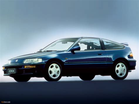 Wallpapers Of Honda Civic Crx 198891 1600x1200