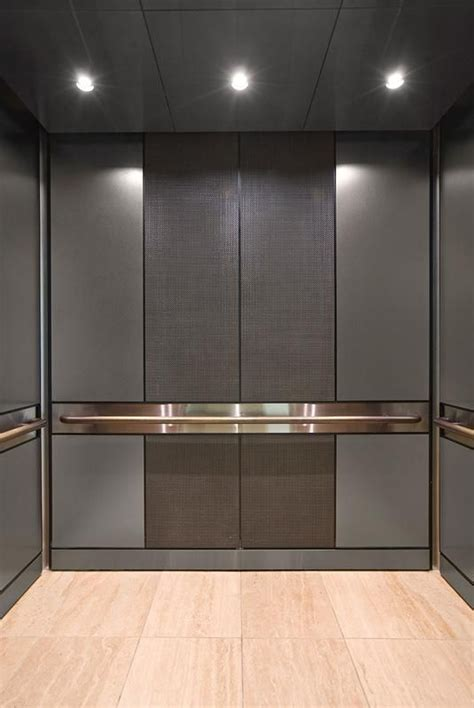LEVELe 105 Elevator Interior with customized panel layout