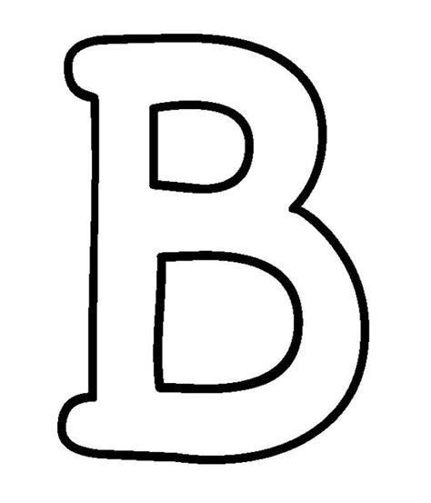 block letter b moldes de letras mai 250 sculas 29537