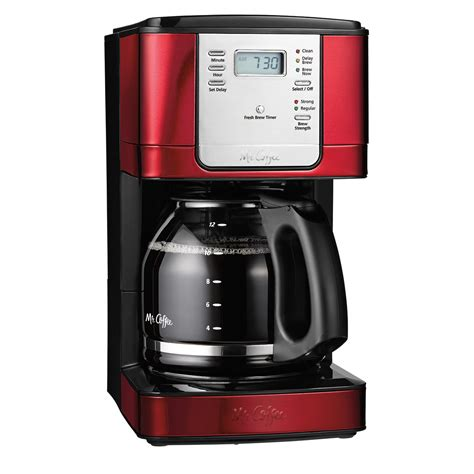 Read reviews and buy mr. Mr. Coffee® JWX Series 12-Cup Programmable Coffeemaker, Stainless Steel, JWX31-RB on MrCoffee.com