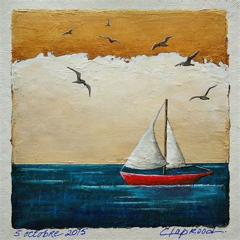 Sailing Boat Art by 1000 Ideas About Boat Painting On Pinterest Boat Art