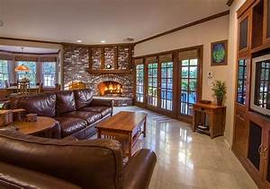 warm and inviting rustic home interiors house home With warm and inviting rustic living room ideas