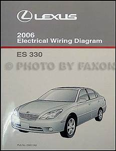 2006 Lexus Es 330 Wiring Diagram Manual Original