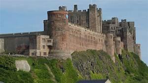 Bamburgh Castle, Northumberland, England, UK, 8/2012 ...