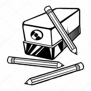 Drawing Of An Electric Pencil Sharpener