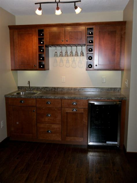 Basement Bar Cabinets by Our Bar Cabinets From Home Depot Basement