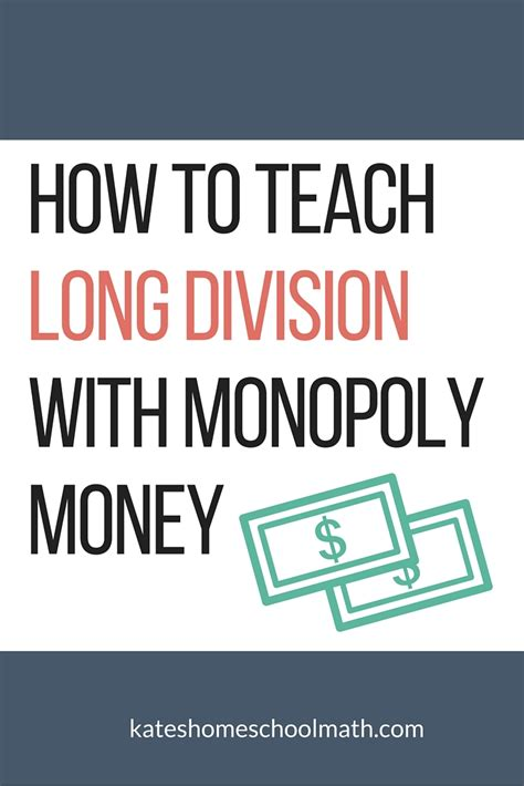 How To Teach Handson Long Division