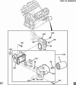 6 Duramax Engine Oil Cooler  6  Free Engine Image For User Manual Download