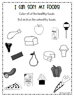 healthy kindergarten worksheets happy healthy