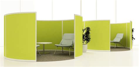 curved screens fabric freestanding deluxe office