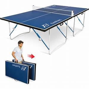 EastPoint Sports Easy Setup Fold ?N Store Table Tennis Table ? 12mm Top - Walmart.com  Table Tennis Sports